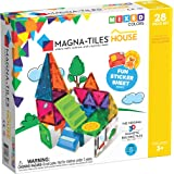 Magna-Tiles 18332 28-Piece House Set, The Original, Award-Winning Magnetic Building Creativity and Educational, STEM Approved