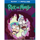 Rick and Morty: Season 4 [Blu-ray]