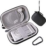 ソニー SONY デジタルカメラ Cyber-shot DSC-W830/WX350/WX500 専用保護収納ケース -waiyu JP (黒)