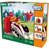 Brio 33873 Smart Engine Set with Action Tunnels Train