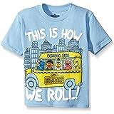 Sesame Street Unisex-Child Boys ITSD044-02T Short Sleeve Tee Shirt Short_Sleeve T-Shirt