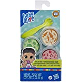 Baby Alive E9120 Solid Doll Food Refill, Includes 3 Doll Foods, 1 Fork, Toy Accessories