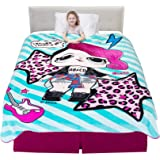 "Franco - A45768 Kids Bedding Super Soft Plush Blanket, Twin/Full Size 62"" x 90"", LOL Surprise"