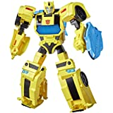 "TRANSFORMERS - Bumblebee Cyberverse Adventures Battle Call Officer Class - 10"" Bumblebee Action Figure - Voice Activated Ener"
