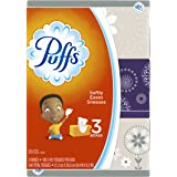Puffs, Everyday Non-Lotion Facial Tissues, 180 Tissues per box, 3 Pack