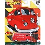 ホットウィール(Hot Wheels) カーカルチャー ドイチュラント デザイン - フォルクスワーゲン T1 パネル バス GRJ71 赤