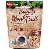 Splenda Naturals Monk Fruit Zero Calorie All Natural Granulated Sweetener - 1 Pound Bag, Resealable (16 Ounce (Pack of 1))