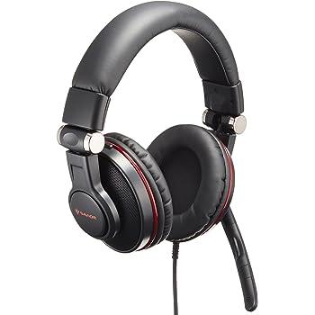 iBUFFALO ゲーミングヘッドセット 5.1chサラウンドシステム ブラック BSHSUH05BK