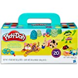 Hasbro A7924 Play-Doh Super Colour Pack inc 20 Tubs of Dough- sensory and educational craft toys for kids, boys, girls- Ages