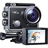 """APEMAN Action Camera 4K WiFi 16MP Waterproof Underwater Camera Ultra Full HD Sport Cam 30M Diving with 2"""" LCD 170 Degree Wide"""