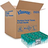 Kleenex Professional Facial Tissue Cube for Business (21271), Upright Face Tissue Box, 6 Bundles/Case, 6 Boxes/Bundle, Pack o