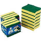 """MR.SIGA Heavy Duty Scrub Sponge, 24 Count, Size:11 x 7 x 3cm, 4.3"""" x 2.8"""" x 1.2"""""""