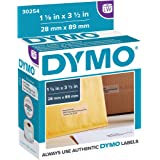 DYMO LW Mailing Address Labels for LabelWriter Label Printers, Clear, 1-1/8'' x 3-1/2'',1rolls of 130
