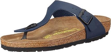 Birkenstock Unisex Gizeh, Blue Sandals