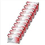 ACCO Paper Clips, 1 Size, Economy, Non-Skid, 10 Boxes, 100/Box (72385)