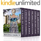 For the love of a scoundrel (6 Book Regency Romance Box Set) (The Clean Regency Boxset 4)