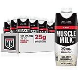 Cytosport Muscle Milk Genuine Protein Shake, Vanilla Crème, 25g Protein, 11 FL OZ, 12 Count