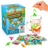 Water Growing Dinosaurs - 25 Pack - Individually Wrapped Favors - Expandable Animals - Party Supplies, Goodie Bags Fillers- G