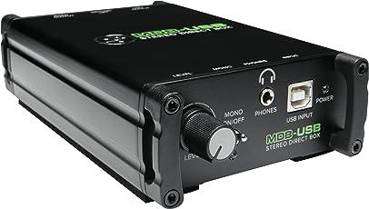 MACKIE マッキーUSBステレオダイレクトボックスMDB-USB 国内正規品