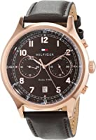 Tommy Hilfiger Men 1791387 Year-Round Analog Quartz Brown Watch