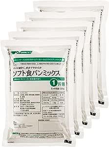 パナソニック ホームベーカリー用 ソフト食パンミックス(1斤分×5) SD-MIX62A