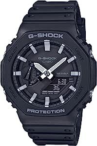 [カシオ] 腕時計 ジーショック カーボンコアガード GA-2100-1AJF メンズ ブラック