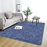 Rostyle Super Soft Fluffy Area Rugs for Bedroom Living Room Shaggy Floor Carpets Shag Christmas Rug for Girls Boys Furry Home
