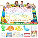 Jasonwell Aqua Magic Doodle Mat - 60 x 40 Inches Large Water Drawing Doodling Mat Painting Writing Doodle Board Coloring Mat