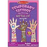 Melissa & Doug Temporary Tattoos Metallic