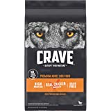 CRAVE Grain Free Adult High Protein Natural Dry Dog Food with Protein from Chicken, 22 lb. Bag