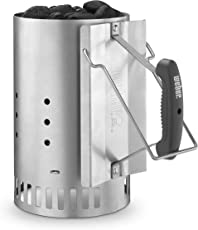 Weber(ウェーバー) 煙突効果 火起こし器 チャコールスターター ラピッドファイヤーチムニースターター 7416 【日本正規品】