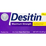 Desitin Maximum Strength Zinc Oxide Diaper Rash Paste, 57g