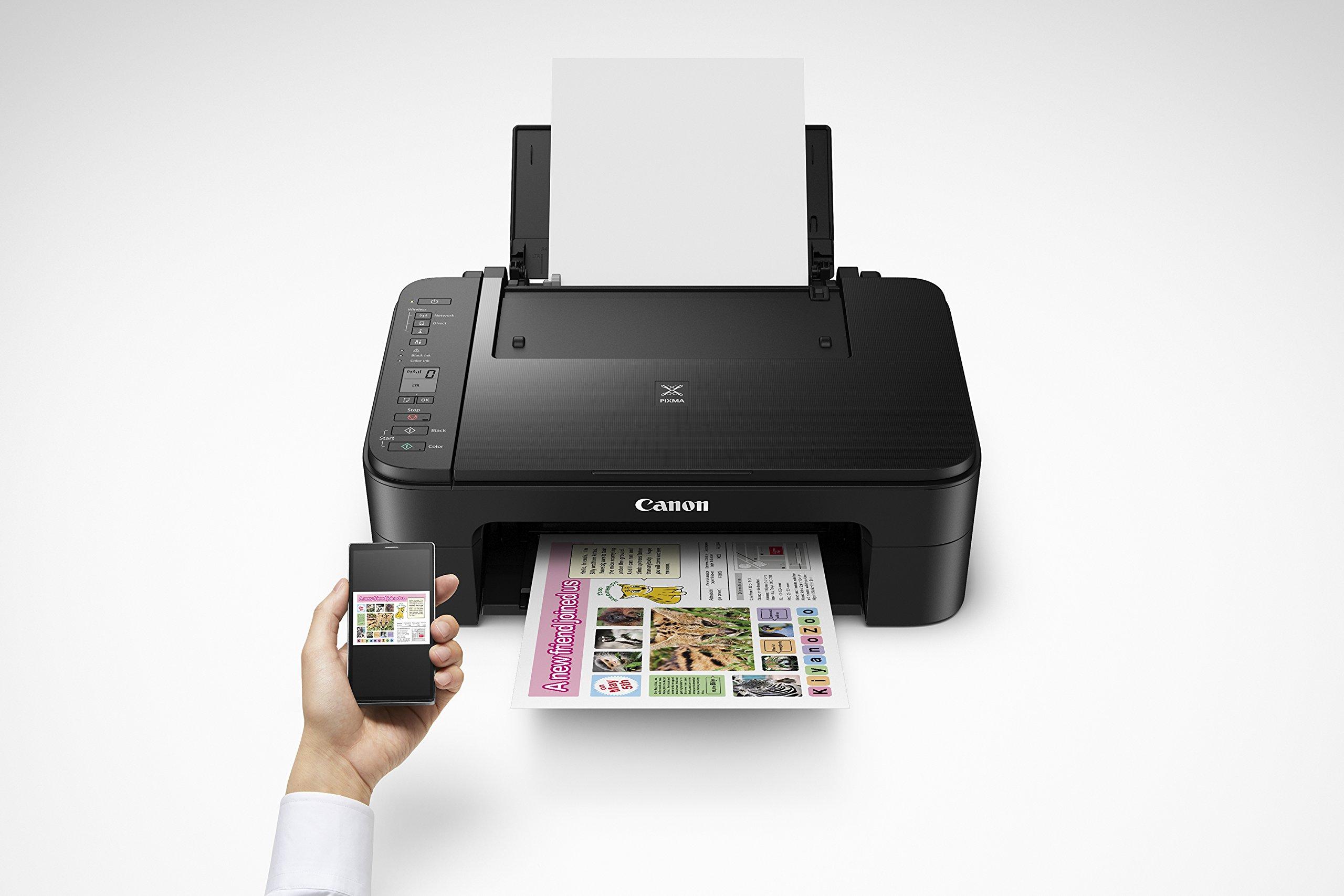 Canon Multi Function Home Printer PIXMA, Black (TS3160) 6