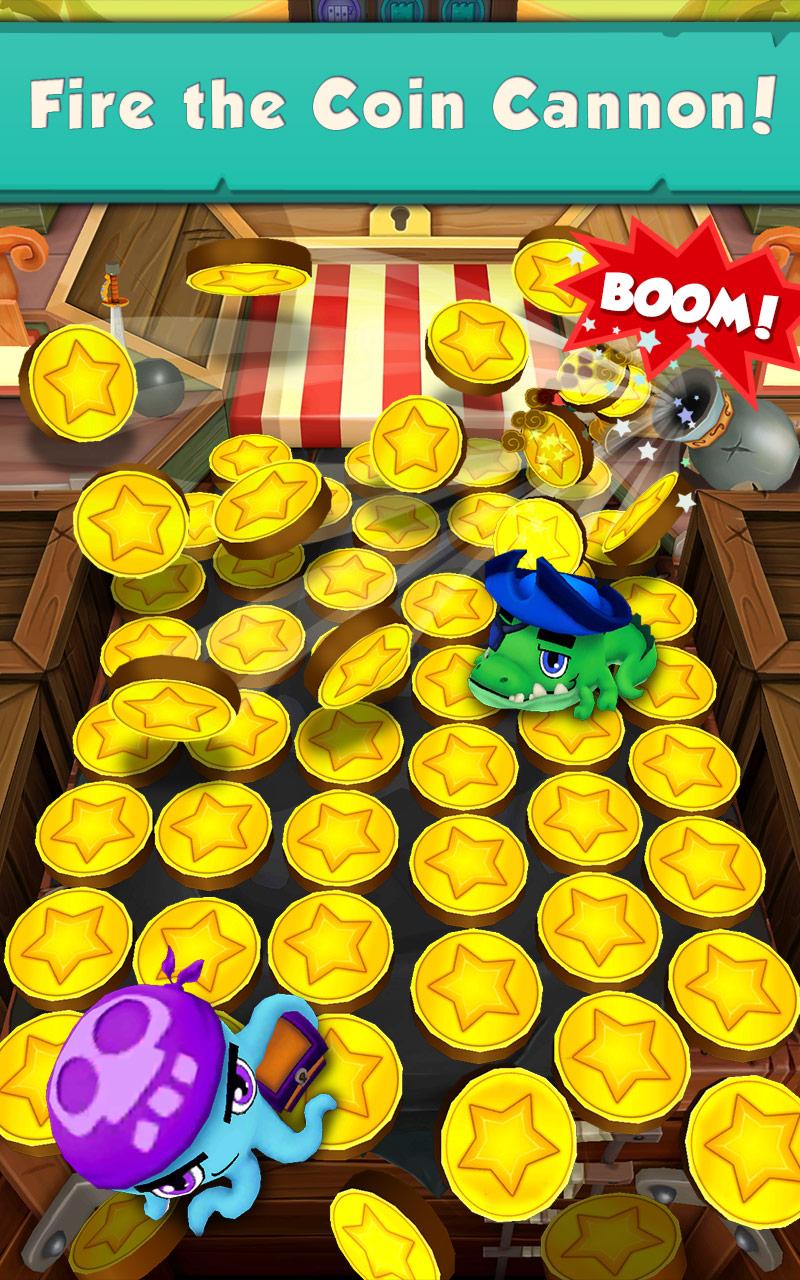 『Coin Dozer: Pirates』の3枚目の画像