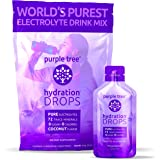 Electrolyte Supplement Drops for Hydration | Keto, Sports, Cramps, Rehydration, Hangover | Coconut | Trace Minerals, Magnesiu