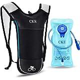 CKE Hydration Backpack for Men Women Kids Hydration Pack with 2L Water Bladder Water Backpack with Hydration Bladder for Runn