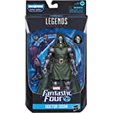Marvel E8119 Legends Series Fantastic Four 6-inch Collectible Action Figure Doctor Doom Toy, Premium Design, 4 Accessories, 1