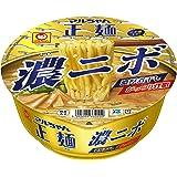 東洋水産 マルちゃん正麺 カップ 濃ニボ 125g×12個