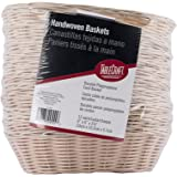 Products C1174W Basket, Oval, Natural, 23cm x 15cm x 5.7cm (Pack of 12)
