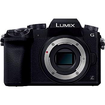 パナソニック ミラーレス一眼カメラ ルミックス G7 ボディ 1600万画素 ブラック DMC-G7-K