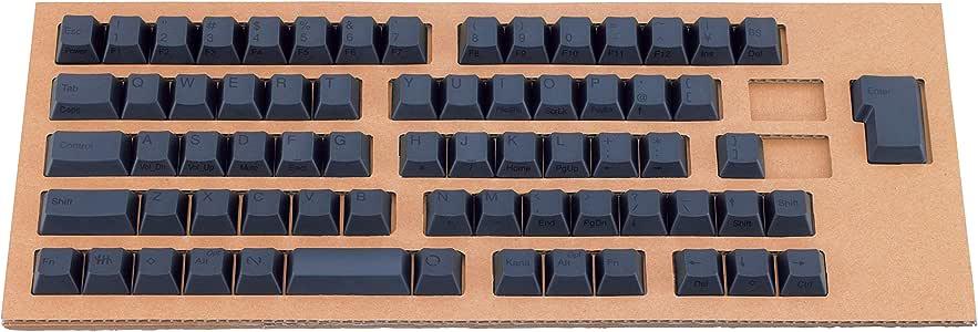 PFU キートップセット墨 (HHKB Professionaシリーズ日本語配列モデル) PD-KB420KTB