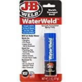 J-B Weld 8277 WaterWeld Underwater Epoxy Putty - 2 oz 0 1 Pack Off White