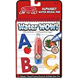 Melissa & Doug 5389 On The Go Water Wow! Alphabet (Reusable Water-Reveal Activity Pad, Chunky-Size Water Pen)