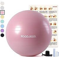 RGGD&RGGL 45cm/55cm/65cm/75cm 平衡球 厚 环保 防过敏健身球 防爆瑜伽球 耐负重997kg 健身/家庭/办公室/办公室等 椅子