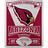 """Officially Licensed NFL Marque Printed Fleece Throw Blanket, Multi Color, 50"""" x 60"""""""