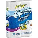 Charmin Ultra Soft Toilet Paper 6 Mega Rolls = 24 Regular Rolls
