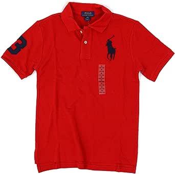 (ポロ ラルフローレン) POLO Ralph Lauren ボーイズ ビッグポニー ポロシャツ ワンポイント 刺繍 0105169 [並行輸入品]