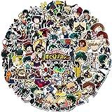 My Hero Academia Stickers 100pcs Funny Cartoon Waterproof Sticker for laptops
