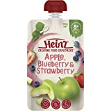 Heinz Apple, Blueberry and Strawberry Pouch, 120g