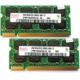 Hynix ノートPC用メモリ DDR2-800 (PC2-6400S) Side3 (2GBx2枚) [並行輸入]